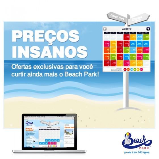 Preços insanos para visitar o Beach Park