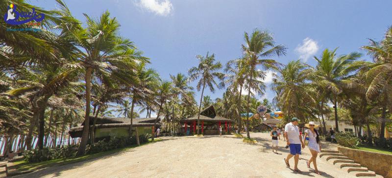 Restaurante da Praia do Beach Park.