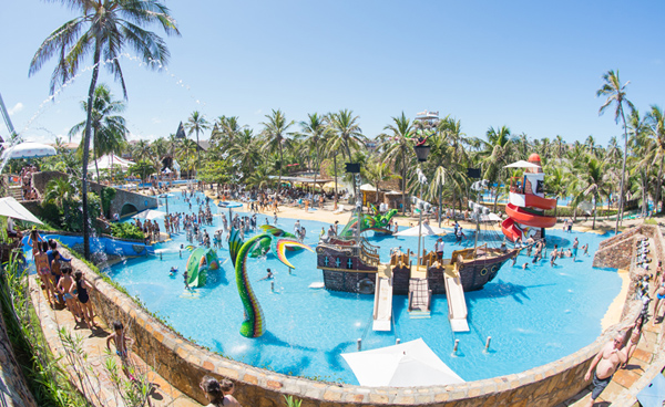 Programação de Carnaval no destino Beach Park Resort