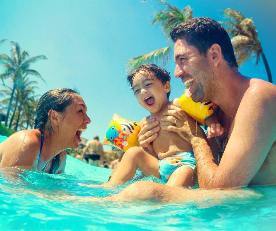 Sabe onde você encontra diversão para toda a família? No Beach Park!