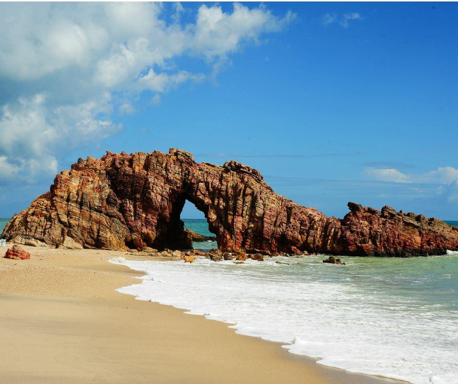 Praia de Jericoacoara - Ceará