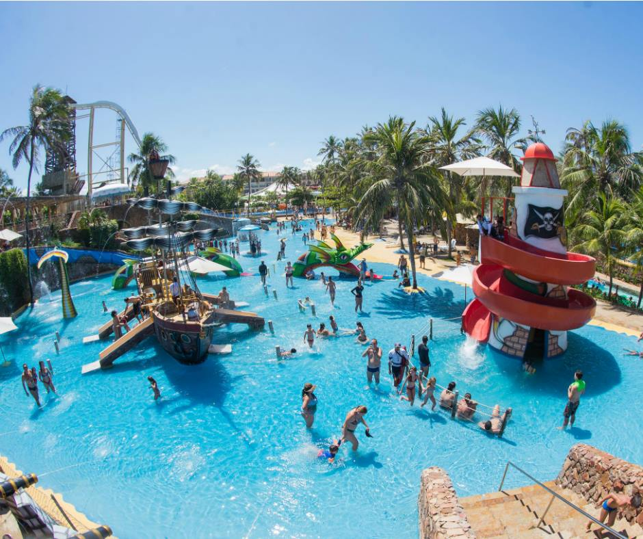 Parque aquático Beach Park - Ceará