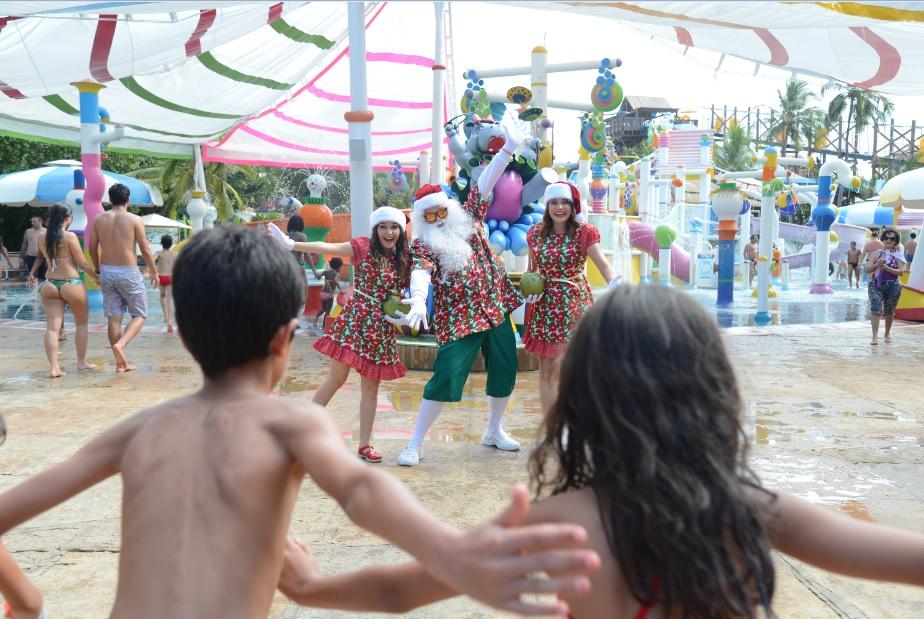 Venha passar um Natal inesquecível no Beach Park!