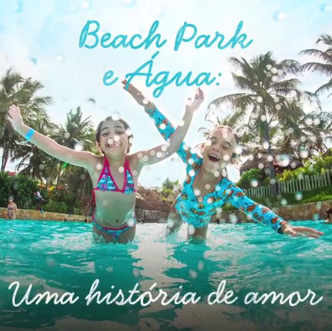 Saiba mais sobre o uso consciente da água no Beach Park