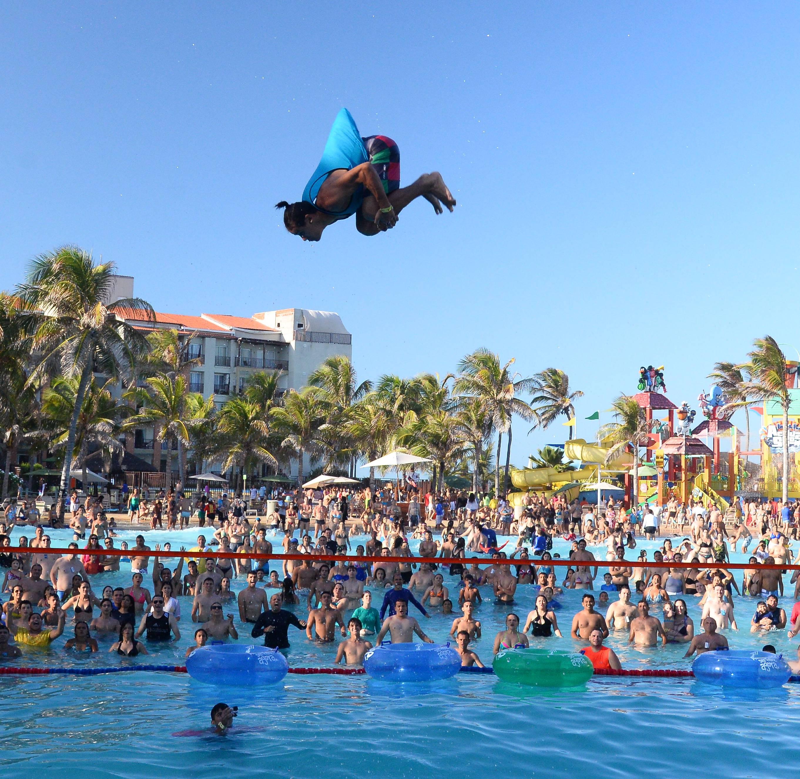 Venha conferir o maior Campeonato de Slackline sobre águas do Brasil!
