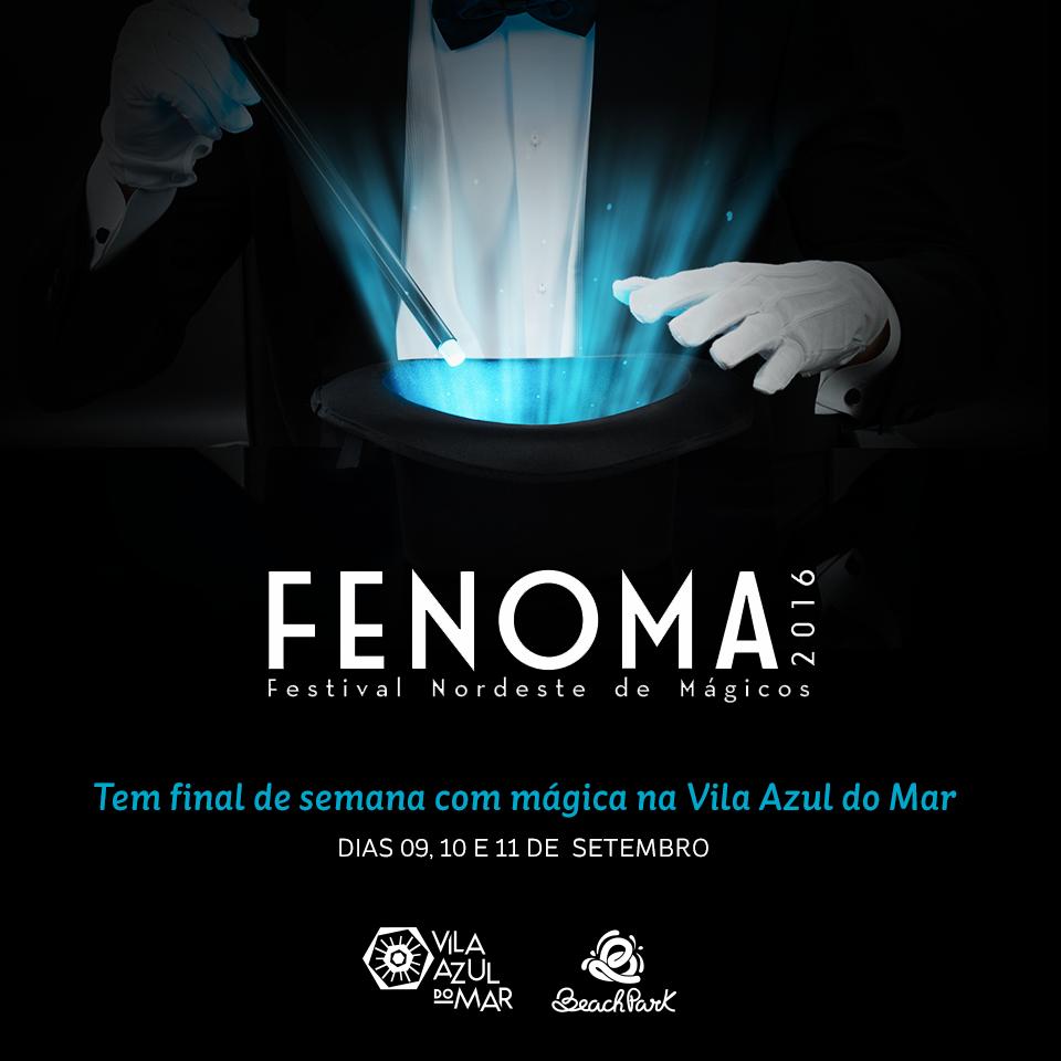 Festival de Mágica na Vila Azul do Mar