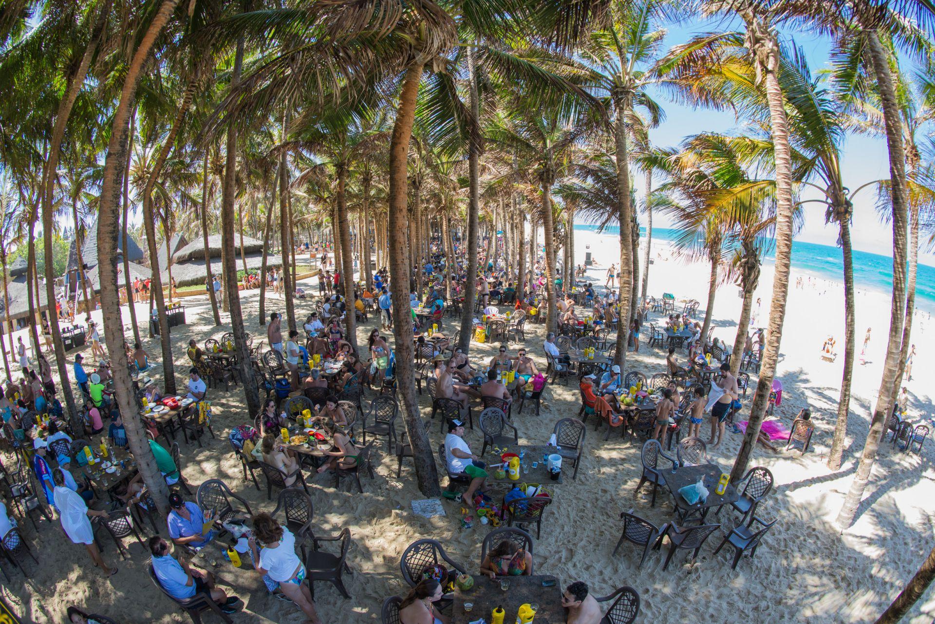 Melhor barraca de praia do Ceará