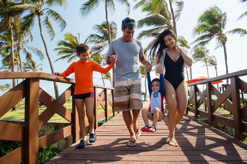 Dicas para viajar em família