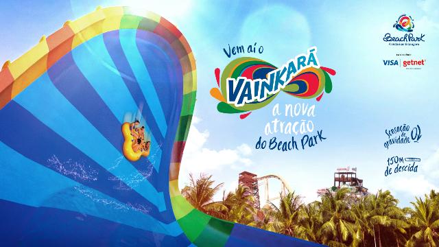 Conheça o #Vainkará a nova atração do Beach Park