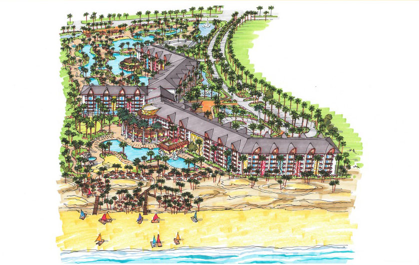 Novo complexo turístico Beach Park