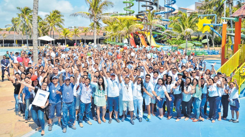 Beach Park ganha prêmio GPTW como uma das melhores empresas de Turismo para trabalhar no país