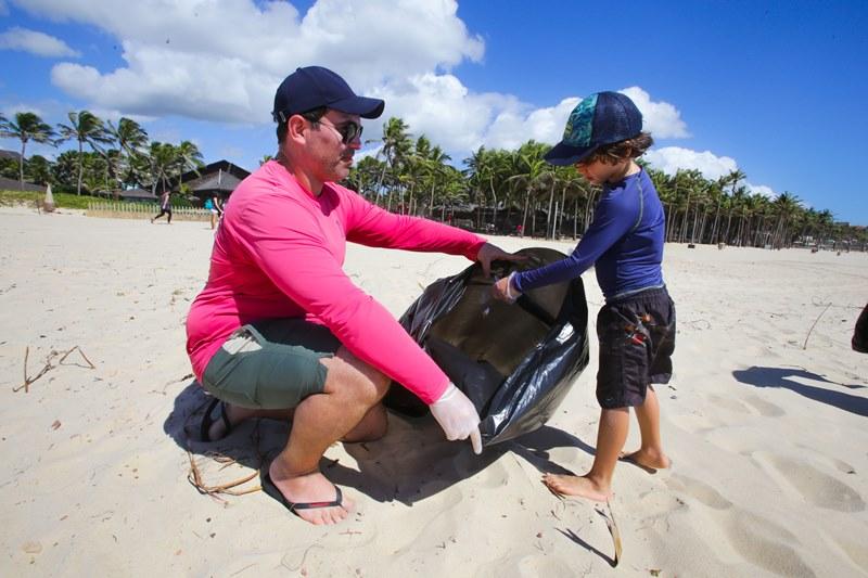 Jornada Sustentável Ceará: Beach Park lidera ação que planeja tirar 30 toneladas de lixo do mar e das praias cearenses