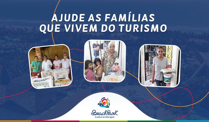 Ajude as famílias que vivem do turismo