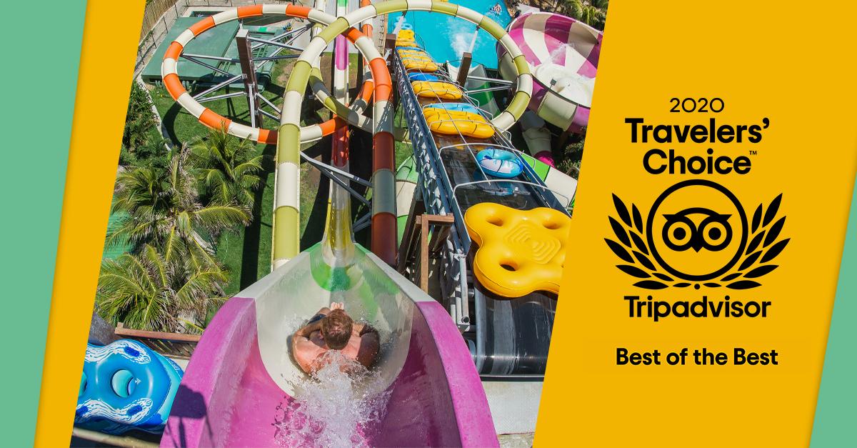 Melhor parque aquático da América Latina: o Beach Park é Travelers' Choice