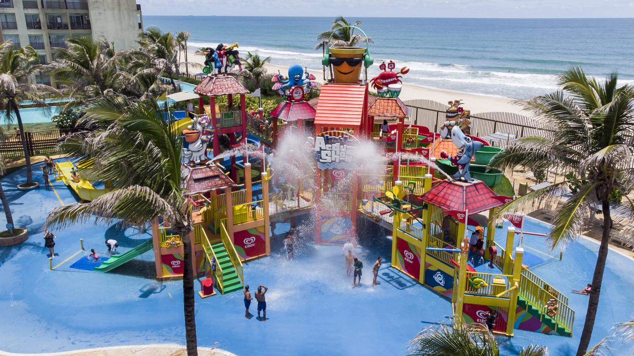 4 atrações do Beach Park para brincar com as crianças