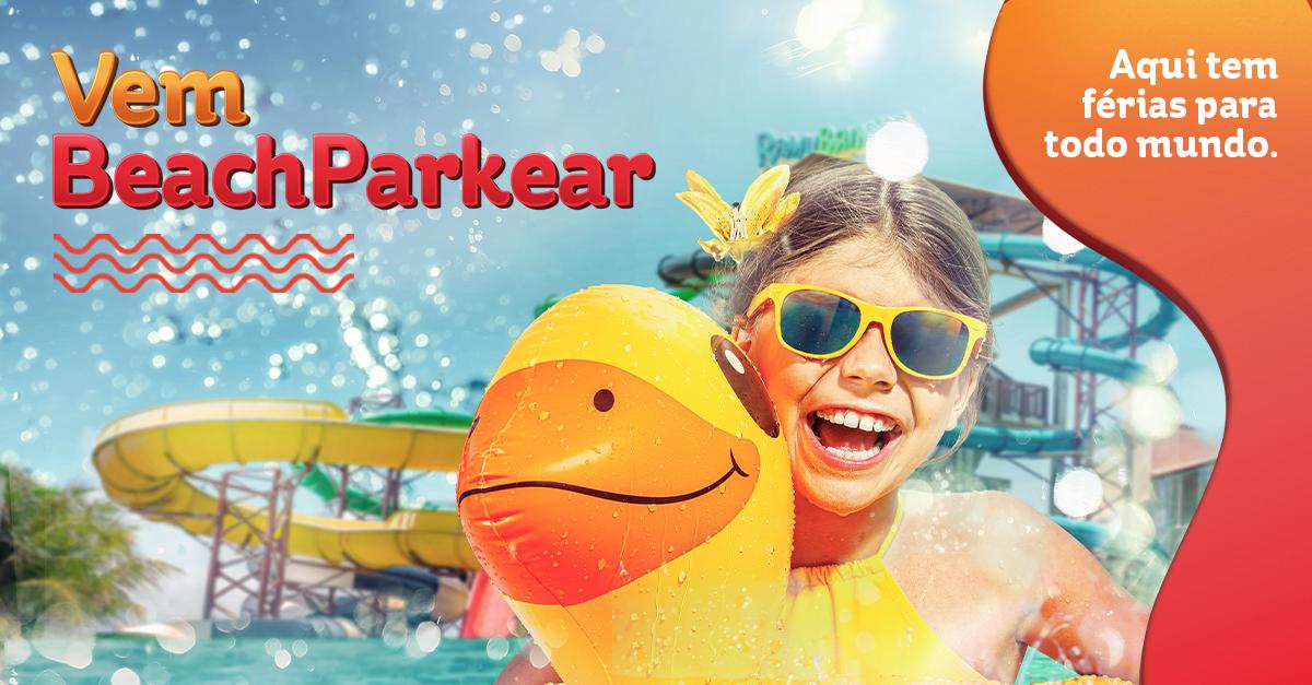 Férias de Janeiro | Descontos especiais em hospedagens. Vem BeachParkear.