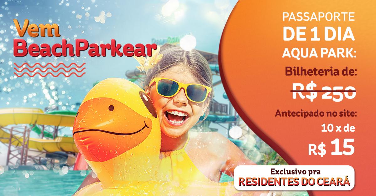 Ingressos do Beach Park com desconto para o Ceará | A promoção de residentes está de volta!