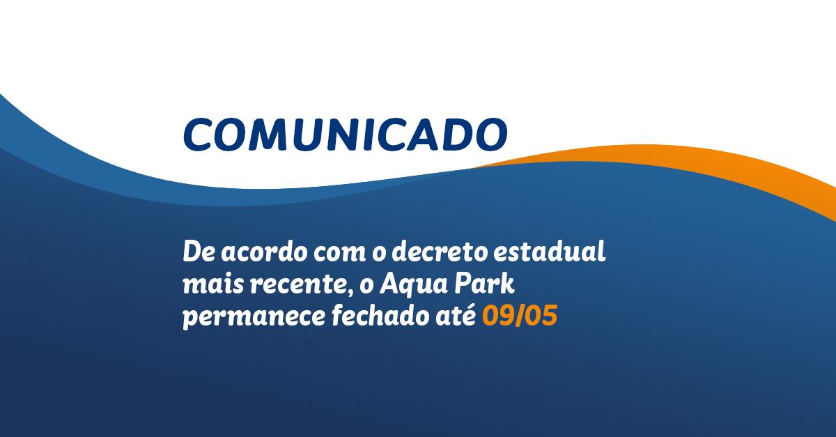 Confira o horário de funcionamento do Beach Park atendendo aos decretos de combate à pandemia do Goverdo do Estado
