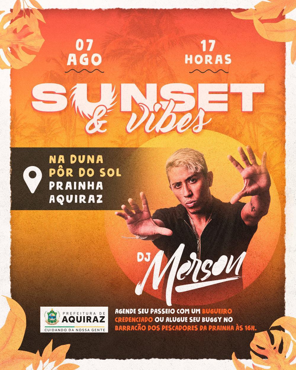 Prefeitura de Aquiraz organiza um Sunset para movimentar turismo local